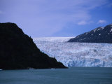 Glacier Spills into the Prince William Sound, Alaska Photographic Print by Stacy Gold