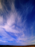 Cirrus Clouds, Alaska Photographic Print by John Eastcott & Yva Momatiuk