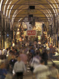 Inside Istanbul's Grand Bazaar, Turkey Photographic Print by Richard Nowitz