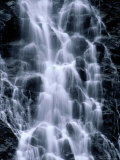 Close View of Horsetail Falls, Alaska Photographic Print by John Eastcott & Yva Momatiuk