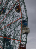 Close-Up View of a Ferris Wheel, Brooklyn, New York Photographic Print by Todd Gipstein