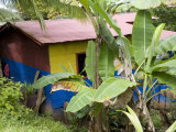 Colorful Home in the Nicaraguan Town Along Costa Rican Border Photographic Print by David Evans