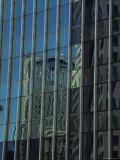 High Rise Buildings Reflect in Windows Photographic Print by Stacy Gold