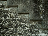 Detailed Masonry of the Wall Surrounding Brolio Castle, Tuscany, Italy Photographic Print by Todd Gipstein