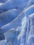 Detail of Blue Ice on Exit Glaicer in Kenai Fjords National Park, Alaska Photographic Print by Rich Reid