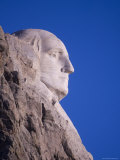 George Washington's Profile at Mt. Rushmore Photographic Print by Joel Sartore