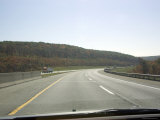 Driving Down the Highway near Pittsburgh, Pennsylvania Photographic Print by Stacy Gold