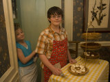 Family Celebrates Thanksgiving with Dinner in Nebraska Photographic Print by Joel Sartore