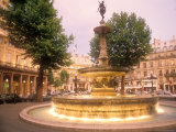 Fountain Across from the Comedie Francaise, France Photographic Print by Michael S. Lewis