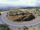 Haleakala Highway at a 10 Mph Turn, Hawaii Photographic Print by Rich Reid