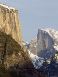 Half Dome and el Capitan from the Wawona Tunnel in Winter, Yosemite, California Photographic Print by Rich Reid