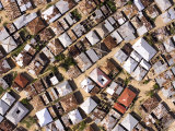 Densely Inhabited Residential Area of Zanzibar, Tanzania Photographic Print by Michael Fay
