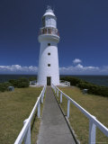 Constructed in 1848 the Cape Otway Lighthouse Faces Bass Straight, Australia Photographic Print by Jason Edwards