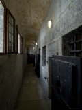 Hallway with Doors to Cells in the Prison of the Doges Palace, Venice, Italy Photographic Print by Todd Gipstein