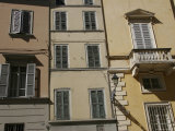 Exterior View of Building with Shuttered Windows, Parma, Italy Photographic Print by Gina Martin