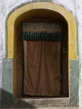 Curtained Entrance to a Monastery, Qinghai, China Photographic Print by David Evans