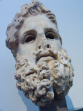 Head of Zeus at the Acropolis Museum in Athens, Greece Photographic Print by Richard Nowitz