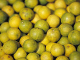 Enticing Display of Lemons at a Fruit Market in the Old City Photographic Print by Jason Edwards