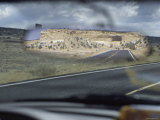 Driving Through Navajo Reservation, Two Landscapes Photographic Print by Dawn Kish