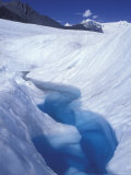 Glacial Blue Pool on Root Glacier, Alaska Photographic Print by Rich Reid