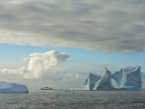Expedition Ship National Geographic Endeavour, Antarctica Photographic Print by Ralph Lee Hopkins