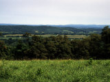 Rolling Mountains Dot the Pennsylvania Landscape Photographic Print by Stacy Gold