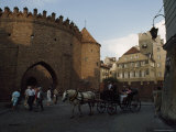 Early 15th Century Walls Surrounding Warsaw's Old Town, Poland Photographic Print by James L. Stanfield