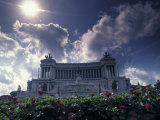 Monument to Vittorio Emanuele II at the Piazza Venezia in Rome, Italy Photographic Print by Richard Nowitz