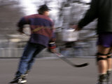 Roller Hockey near the White House, Washington, D.C. Photographic Print by Stacy Gold