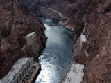 Hoover Dam's Power Substations Along the Colorado River Photographic Print by Stacy Gold