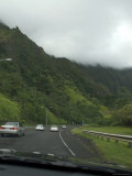 Driving the Highway of Oahu Island, Hawaii Photographic Print by Stacy Gold