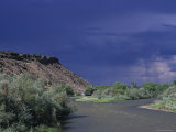 Rainstorm on the Desert Landscape of New Mexico Photographic Print by Stacy Gold