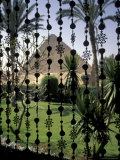 Mana House Hotel Giza Pyramids in the Background in Cairo, Egypt Photographic Print by Richard Nowitz