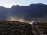 Off Road Driving on the White Rim Trail, Utah Photographic Print by Bill Hatcher
