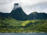 Moorea Island from Cook's Bay, French Polynesia Photographic Print by Tim Laman