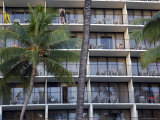 Hotel on Waikiki Beach, Honolulu, Hawaii Photographic Print by Stacy Gold