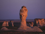 Rock Formation During Sunset, Kansas Photographic Print by  Brimberg & Coulson
