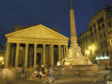 Pantheon Built by Hadrian in Rome, Italy Photographic Print by Richard Nowitz