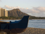 Diamond Head Crater from Waikiki Beach, Hawaii Photographic Print by Stacy Gold