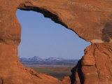Looking East from a Natural Sandstone Arch Photographic Print by Bill Hatcher