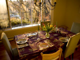 Easter Table Setting, Lexington, Massachusetts Photographic Print by Tim Laman
