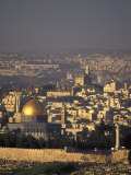 Old City of Jerusalem from Mount Scopus in Israel Photographic Print by Richard Nowitz