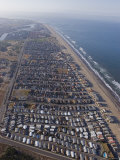 Oxnard Shores Development and Beach Community in Oxnard, California Photographic Print by Rich Reid