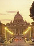 Saint Peter's Cathedral in the Vatican City Photographic Print by Richard Nowitz