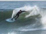 Motion Blur of a Surfer at Ventura Point, California Photographic Print by Rich Reid
