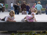 Kids Relax at the Fdr Memorial, Washington, D.C. Photographic Print by Stacy Gold