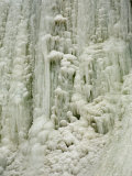 Frozen Waterfall on Plotterkill River Photographic Print by Tim Laman