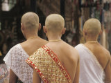 Novice Monks at a Ceremony in Siem Reap, Cambodia, at the Temples of Angkor Photographic Print by Richard Nowitz