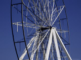 Old Broken Ferris Wheel Photographic Print by Stacy Gold