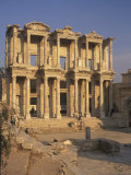 Library of Celsius in Ephesus, Turkey Photographic Print by Richard Nowitz